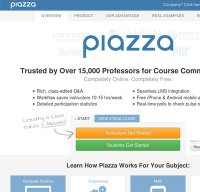 piazza.com screenshot
