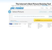picresize.com screenshot