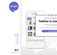 pinger.com screenshot
