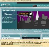 pirateparty.org.uk screenshot