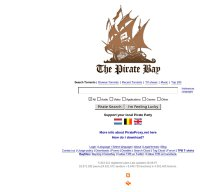pirateproxy.net screenshot