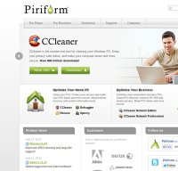 piriform.com screenshot