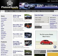 pistonheads.com screenshot