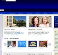 pitt.edu screenshot