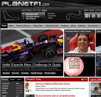 planetf1.com screenshot