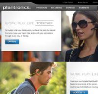 plantronics.com screenshot