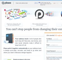 plaxo.com screenshot