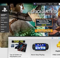 playstation.com screenshot
