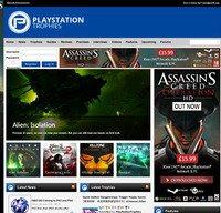 playstationtrophies.org screenshot