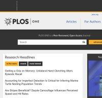 plosone.org screenshot