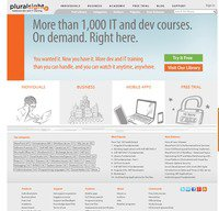 pluralsight.com screenshot