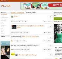 plurk.com screenshot