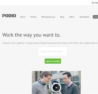 podio.com screenshot