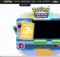 pokemontcg.com screenshot