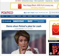 politico.com screenshot