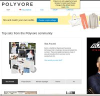 polyvore.com screenshot