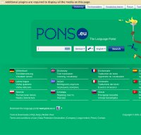 pons.eu screenshot