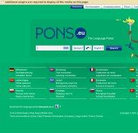 pons.eu screenshot