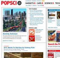 popsci.com screenshot
