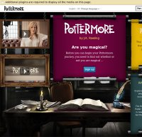 pottermore.com screenshot