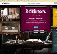pottermore.com screenshot