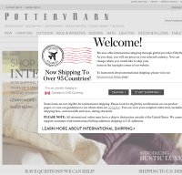 potterybarn.com screenshot