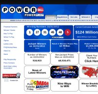 powerball.com screenshot