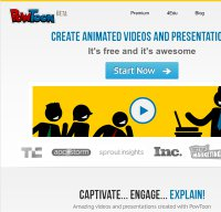 powtoon.com screenshot