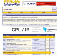 pprune.org screenshot