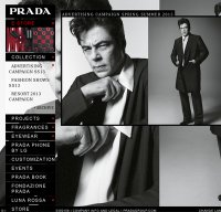 prada.com screenshot