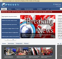 presstv.ir screenshot