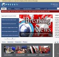 presstv.ir screenshot