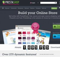 prestashop.com screenshot