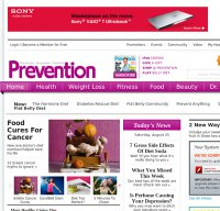 prevention.com screenshot