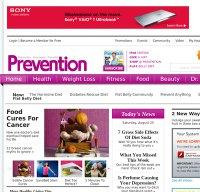 prevention.com screenshot