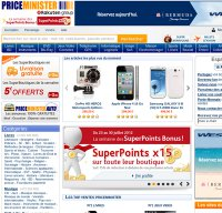 priceminister.com screenshot