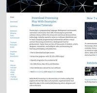 processing.org screenshot