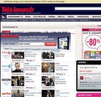 programme-tv.net screenshot