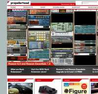 propellerheads.se screenshot
