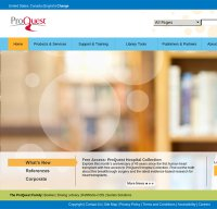 proquest.com screenshot