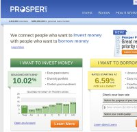 prosper.com screenshot