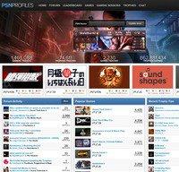 psnprofiles.com screenshot
