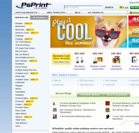psprint.com screenshot
