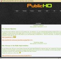 publichd.se screenshot