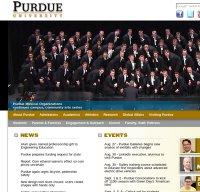 purdue.edu screenshot