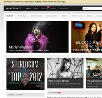 purevolume.com screenshot