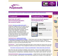 purplemath.com screenshot