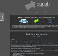 puush.me screenshot