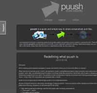 puush.me screenshot