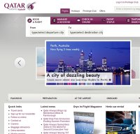 qatarairways.com screenshot
